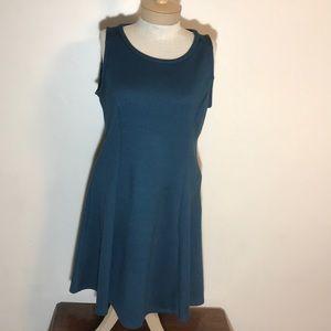 Old Navy large dress blue/green